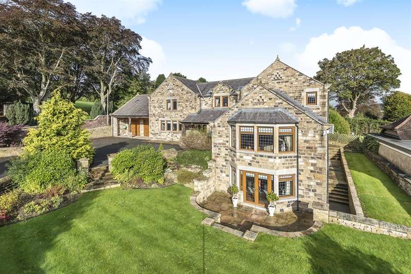 5 Bedrooms Detached House for sale in Park House, Cross Hills
