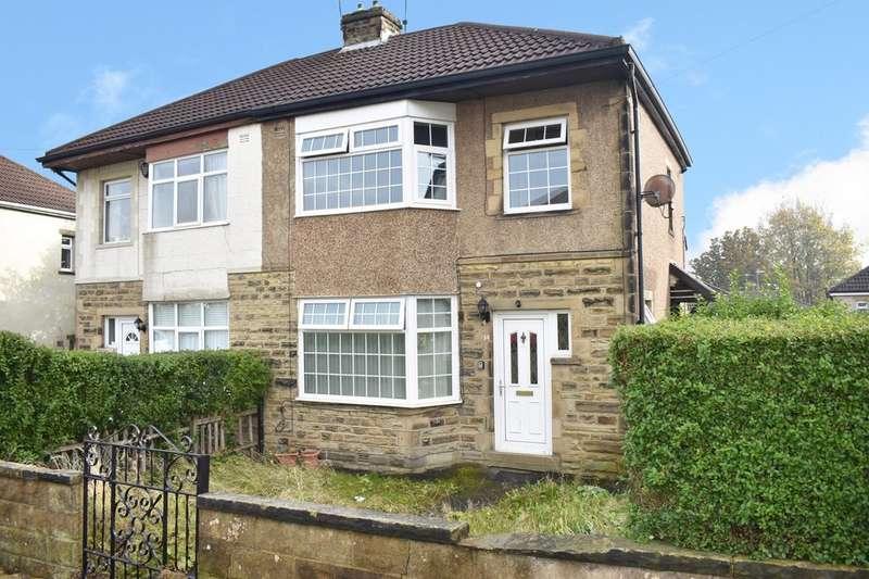 3 Bedrooms Semi Detached House for sale in Leafield Avenue, Eccleshill, Bradford BD2