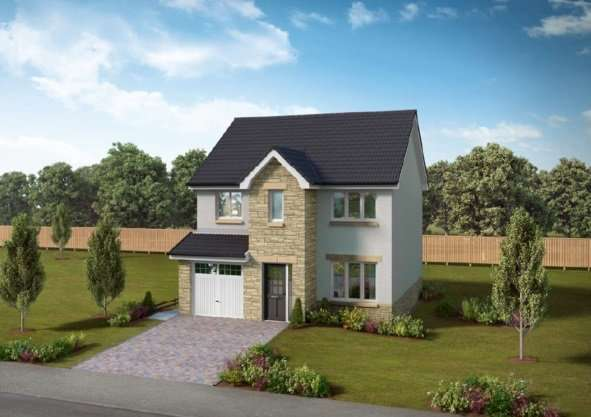4 Bedrooms Detached House for sale in Long Meadow, Ormiston, Tranent, East Lothian, EH35