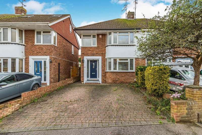 3 Bedrooms Semi Detached House for sale in Northumberland Avenue, Rainham, Gillingham, Kent, ME8