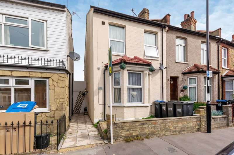 2 Bedrooms End Of Terrace House for sale in Pemdevon Road, Croydon, CR0