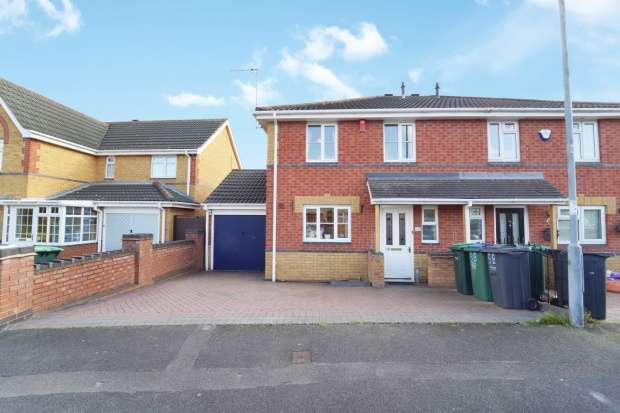 3 Bedrooms Semi Detached House for sale in St Helens Ave, Tipton, Tipton, Staffordshire, DY4 7LR
