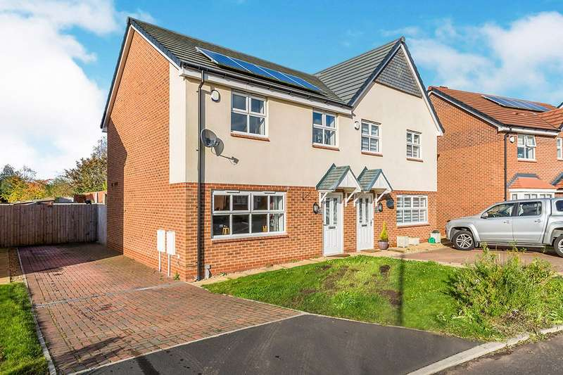 3 Bedrooms Semi Detached House for sale in Chapel Way, Coppull, Chorley, Lancashire, PR7