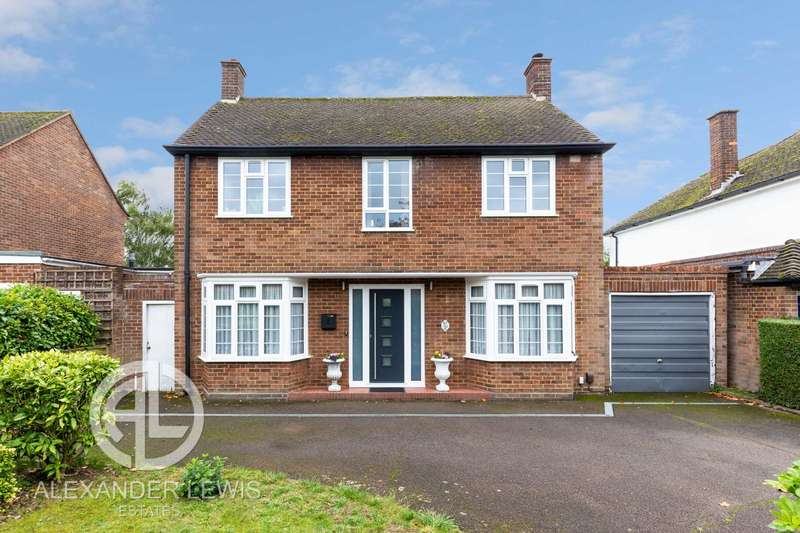 3 Bedrooms Detached House for sale in Highfield, Letchworth Garden City, SG6 3PU