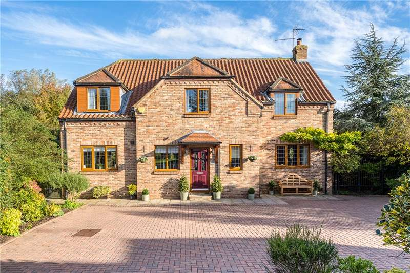 4 Bedrooms Detached House for sale in Willow Garth, Ferrensby, Knaresborough, North Yorkshire