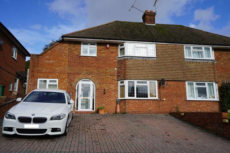4 Bedrooms Semi Detached House for sale in Fitzjohns Road, Lewes