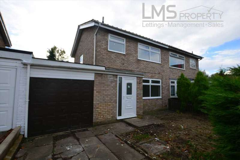 3 Bedrooms Semi Detached House for sale in Lulworth Close, Winsford