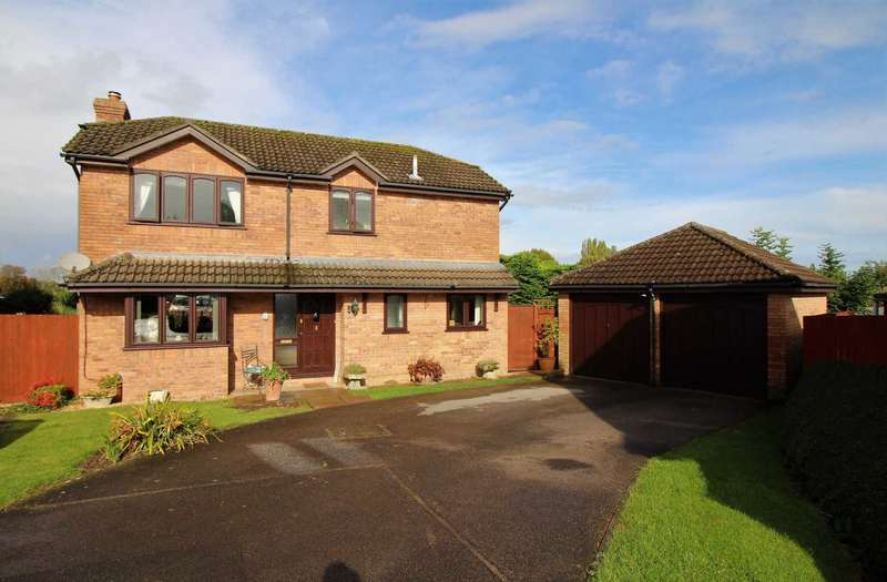 4 Bedrooms Detached House for sale in Audley Gate, Westbury