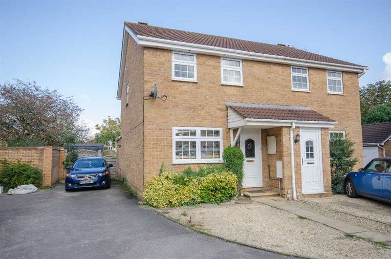 3 Bedrooms Semi Detached House for sale in Epsom Close, Downend, Bristol, BS16 6ST