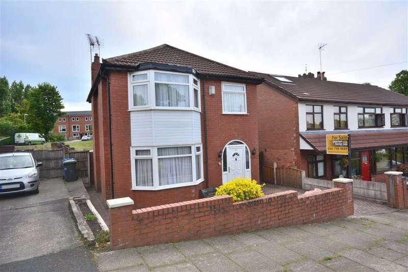 3 Bedrooms Detached House for sale in Clough Drive, Prestwich, M25