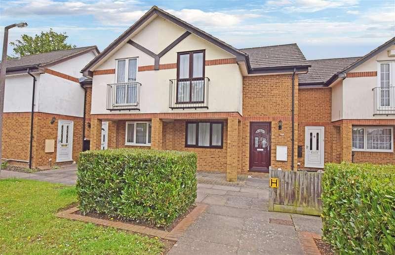 2 Bedrooms Terraced House for sale in Hazlitt Close, Hanworth