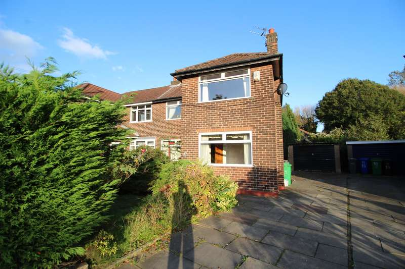 3 Bedrooms Semi Detached House for sale in Roundwood Road, Manchester, M22 4SQ