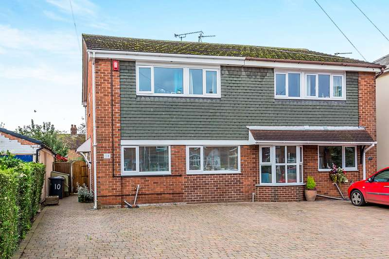 3 Bedrooms Semi Detached House for sale in Elworth Street, Sandbach, Cheshire, CW11