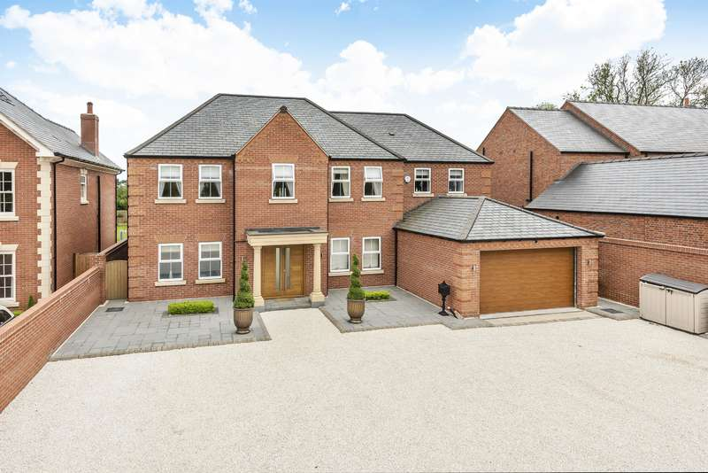 4 Bedrooms Detached House for sale in Charnwood House Main Road, Hundleby, Spilsby, PE23 5NQ