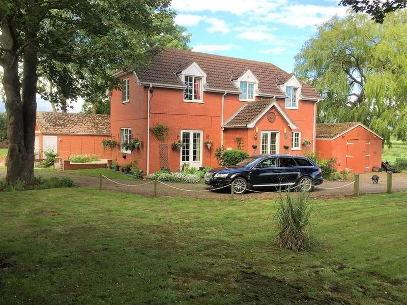 3 Bedrooms Detached House for sale in Ashby-by-Partney, Spilsby, PE23 5RN