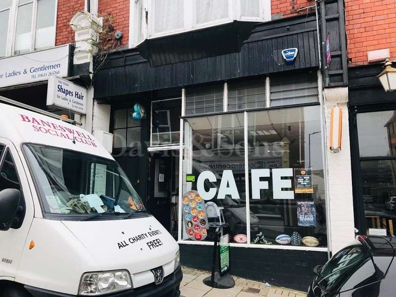 Cafe Commercial for sale in Charles Street, Newport, Gwent. NP20 1JT