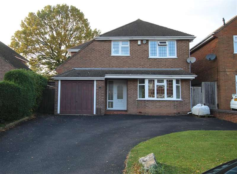 4 Bedrooms Detached House for sale in Cotysmore Road, Sutton Coldfield, B75 6BL