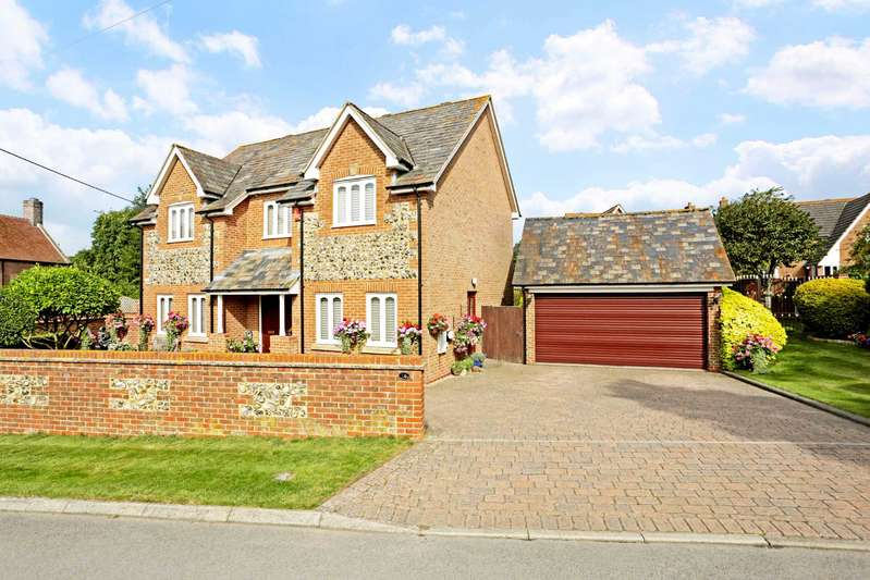 4 Bedrooms Detached House for sale in Jubbs Lane, Ogbourne St George, Marlborough, SN8
