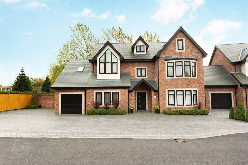 5 Bedrooms Detached House for sale in Hob Hey Lane, Culcheth, Warrington, Cheshire, WA3
