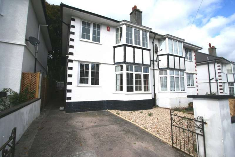 3 Bedrooms Semi Detached House for rent in Nelson Avenue, Stoke, Plymouth PL1