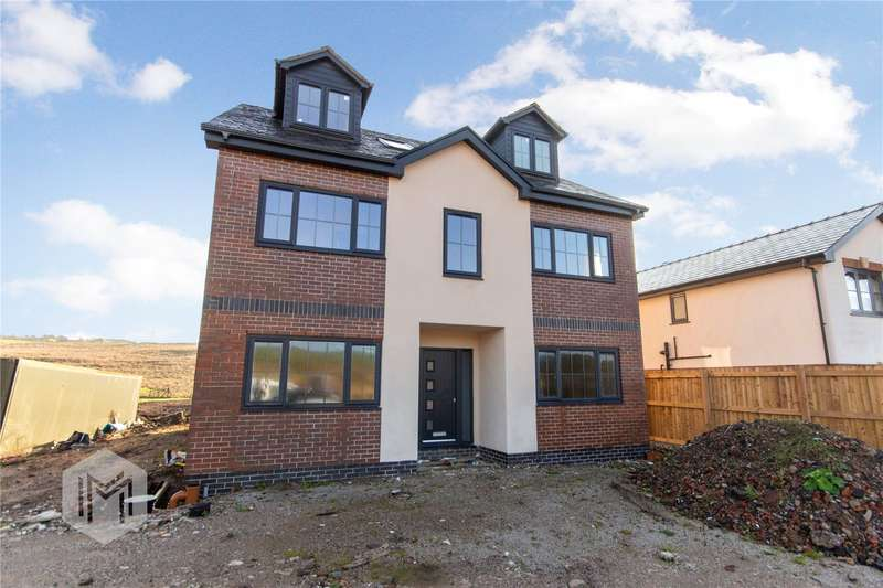 5 Bedrooms Detached House for sale in Hilltop, Arncliffe Rise, Oldham, Greater Manchester, OL4
