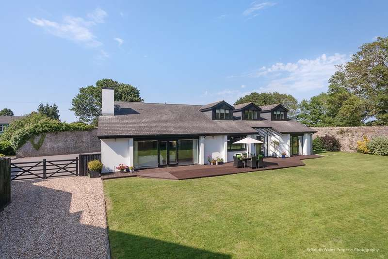 5 Bedrooms Detached House for sale in Nash, Near Cowbridge, Vale of Glamorgan, CF71 7NS