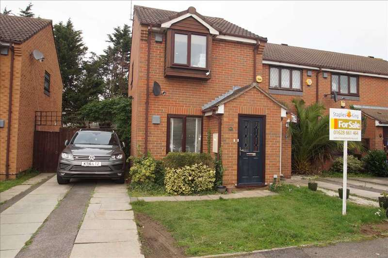 2 Bedrooms End Of Terrace House for sale in Pearl Gardens, Cippenham, Slough