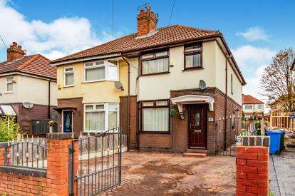 3 Bedrooms Semi Detached House for sale in Foliage Road, Brinnington, Stockport, Greater Manchester