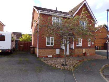 2 Bedrooms Semi Detached House for sale in Kenilworth Crescent, Reedswood, Walsall, .