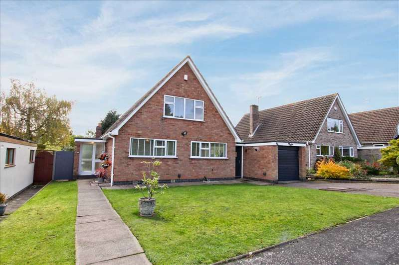 4 Bedrooms Detached House for sale in Mosse Way, Oadby