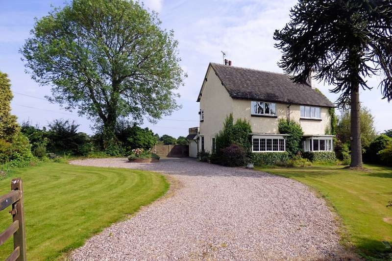 4 Bedrooms Detached House for sale in Hartwell Lane, Barlaston, Stoke on Trent