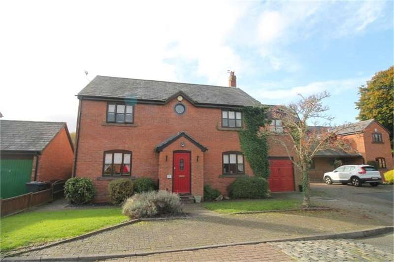 5 Bedrooms Detached House for sale in Brickwall Green, Sefton Village, Merseyside