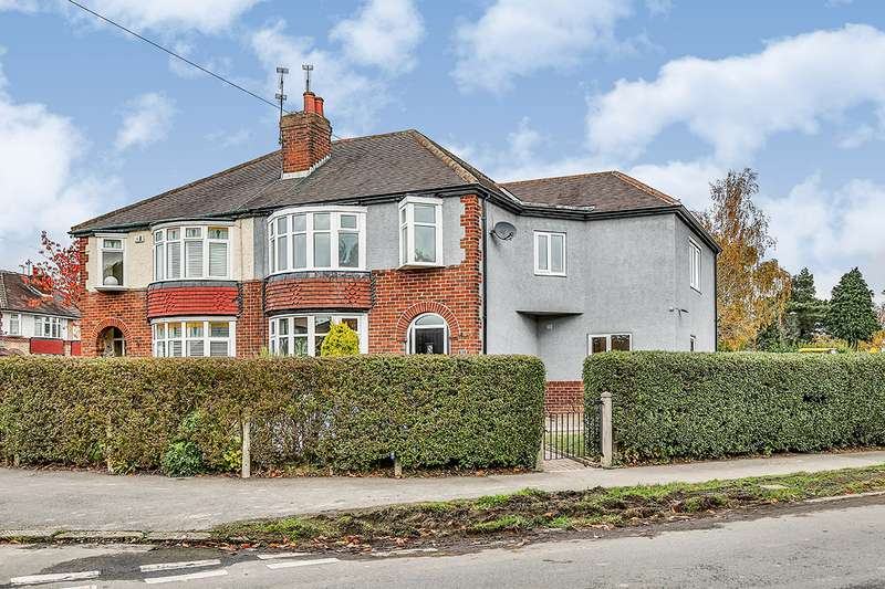 4 Bedrooms Semi Detached House for sale in Norton Park Road, Sheffield, South Yorkshire, S8