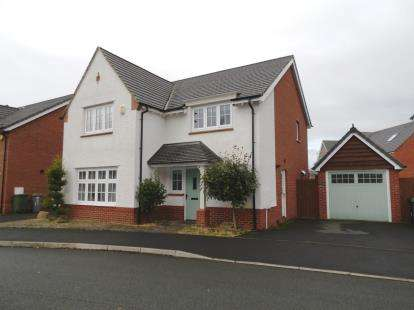 4 Bedrooms Detached House for sale in Over Ashberry, West Timperley, Altrincham, Greater Manchester
