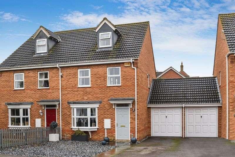 3 Bedrooms Property for sale in Tudors Close, Calvert, Buckingham