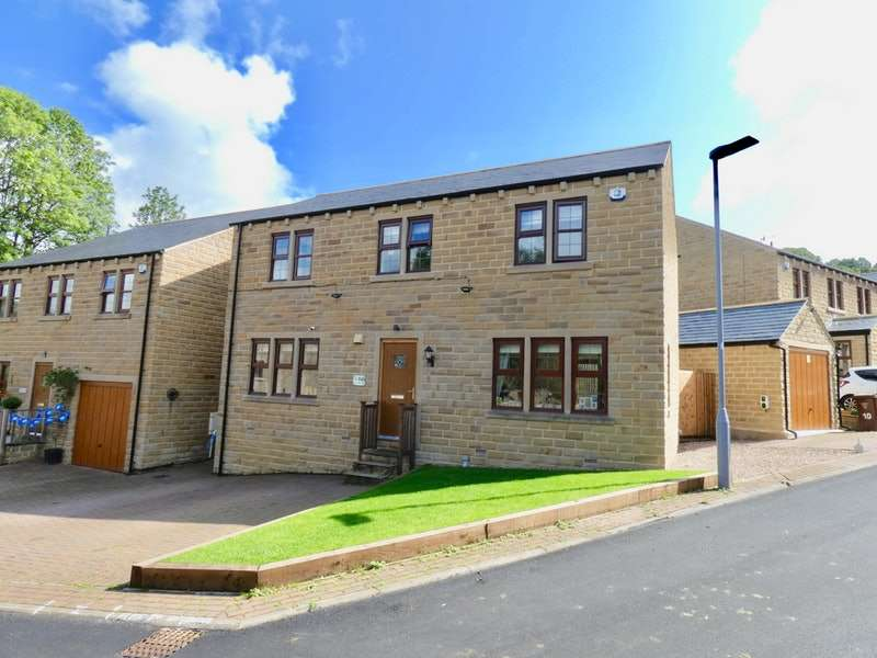 4 Bedrooms Detached House for sale in Perseverance Fold, Oxenhope, West Yorkshire, BD22