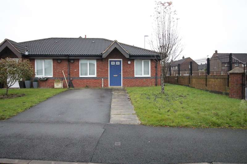 2 Bedrooms Semi Detached Bungalow for sale in Gray Grove, Liverpool, L36 0TB