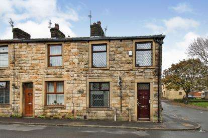 2 Bedrooms End Of Terrace House for sale in Granville Street, Briercliffe, Burnley, Lancashire, BB10