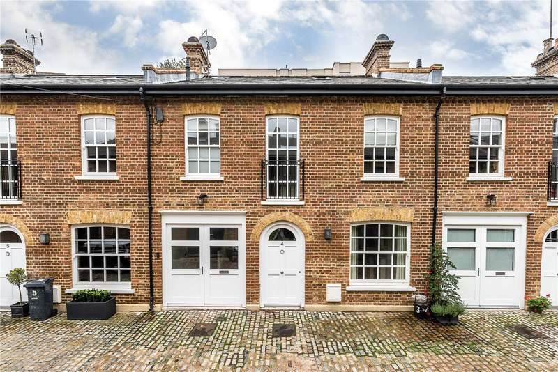 4 Bedrooms Terraced House for sale in Turnchapel Mews, London, SW4