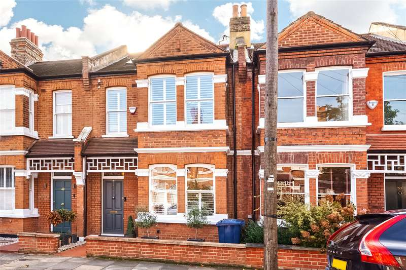 4 Bedrooms Terraced House for sale in Blandford Road, Chiswick, W4
