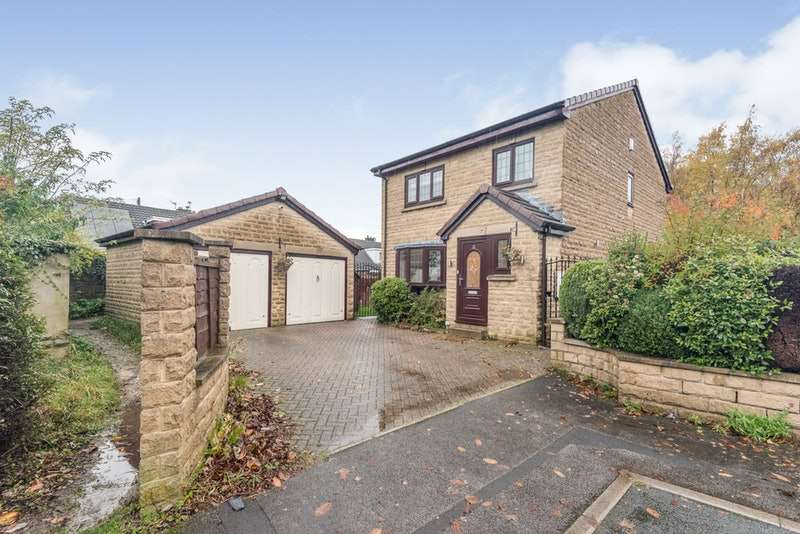 3 Bedrooms Detached House for sale in Manor Park Gardens, Gomersal, Cleckheaton, West Yorkshire, BD19