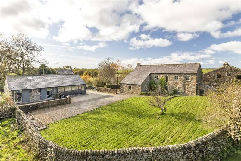 5 Bedrooms Unique Property for sale in New House Lane, Long Preston, Skipton, North Yorkshire