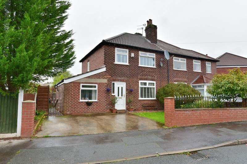 3 Bedrooms Semi Detached House for sale in Wythburn Road, Heaviley, Stockport, SK1 4NQ
