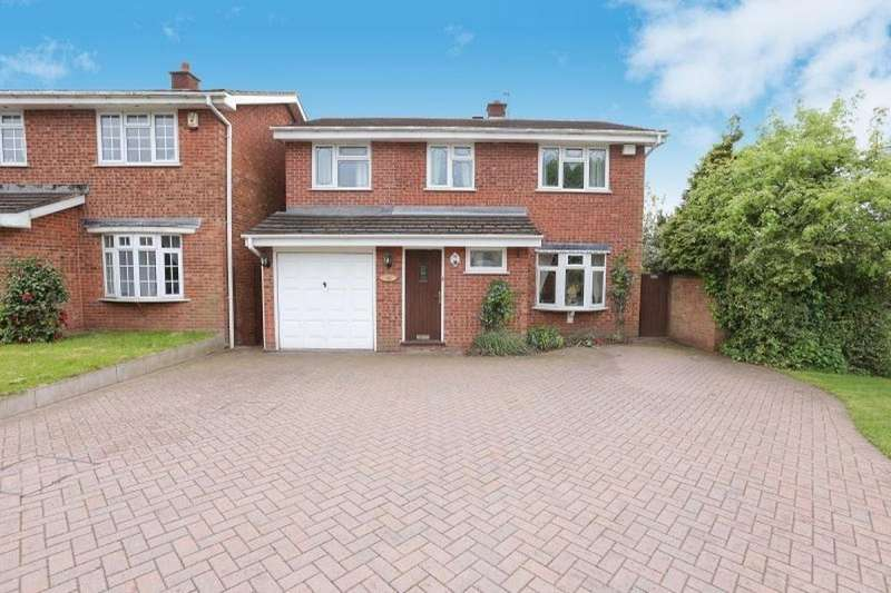 4 Bedrooms Detached House for rent in Richmond Drive, Perton, Wolverhampton, WV6