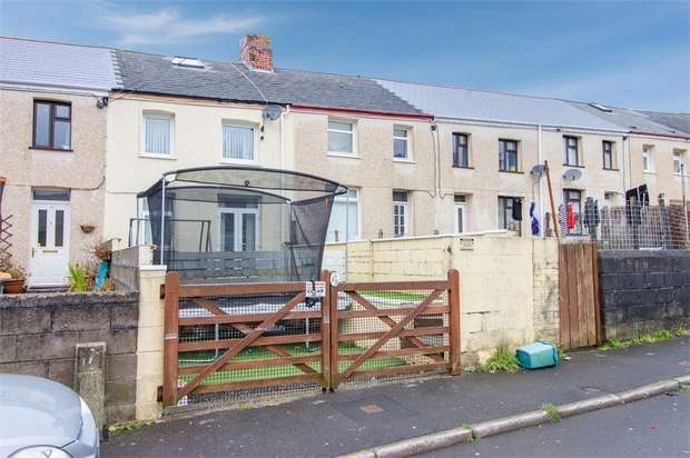 3 Bedrooms Terraced House for sale in Pritchard Terrace, Phillipstown, New Tredegar, Caerphilly