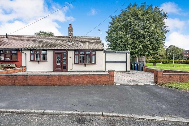 2 Bedrooms Semi Detached Bungalow for sale in Moor Drive, Birleywood, Skelmersdale, Lancashire, WN8