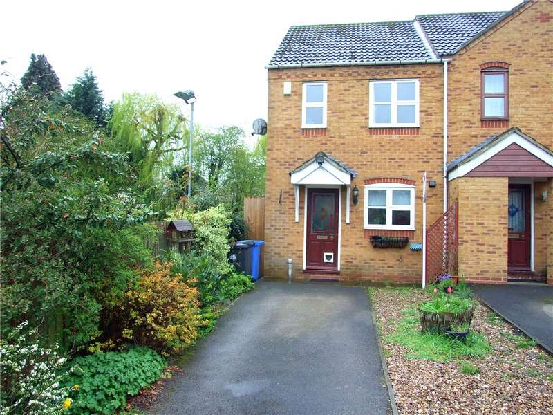 2 Bedrooms End Of Terrace House for sale in Cricketers Court, Littleover, Derby, Derbyshire, DE23