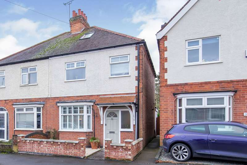 3 Bedrooms Semi Detached House for sale in Bowling Green Road, Hinckley, Leicestershire, LE10