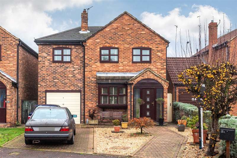 4 Bedrooms Detached House for sale in Holmes Drive, Riccall, York, YO19