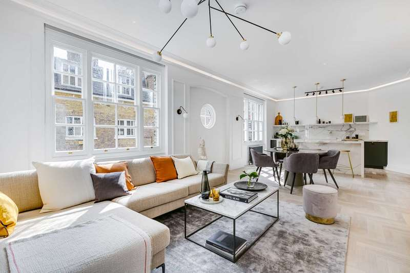 2 Bedrooms Apartment Flat for sale in Montagu Mansions, Marylebone W1U